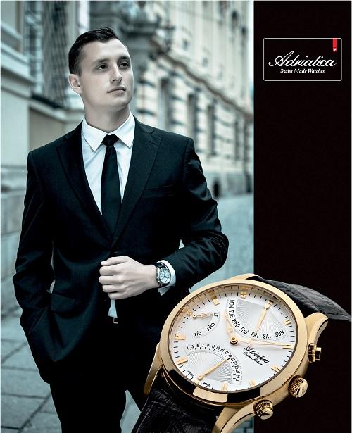 đồng hồ adriatica pha trộn giữa cổ điển và cao cấp hiện đại 2