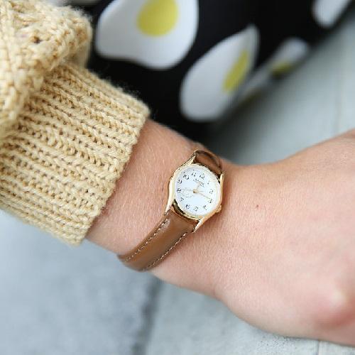 đồng hồ casio dây da nam nữ sự đầu tư chính đáng 2