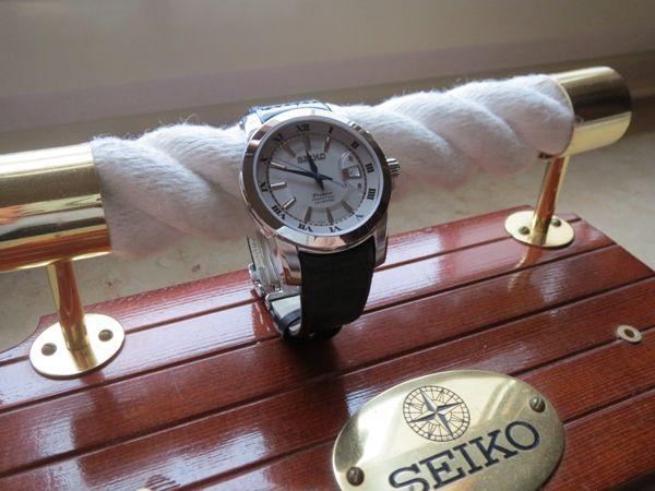 Bóng Bảy Tuyệt Vời Đồng Hồ Nam Mặt Kính Sapphire Seiko