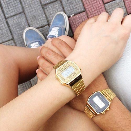 đồng hồ cặp casio chính hãng yêu là phải phiêu mỗi ngày