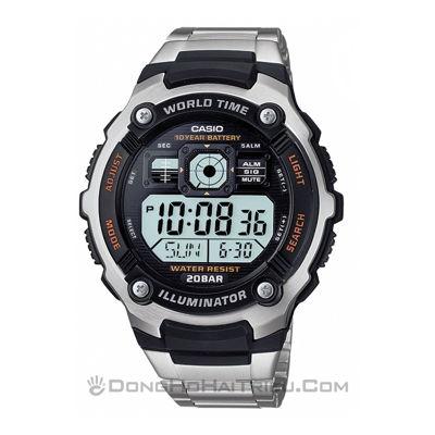 1 cách sử dụng đồng hồ Casio alarm chrono