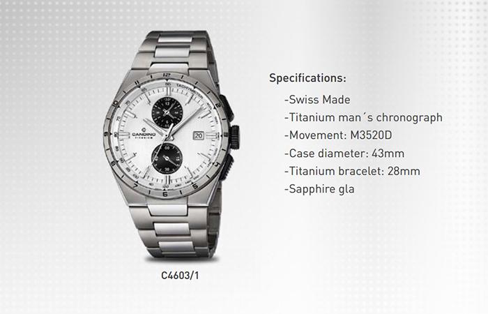 1 Bộ Sưu Tập Mới Candino Titanium Watches Giới Thiệu Năm 2016