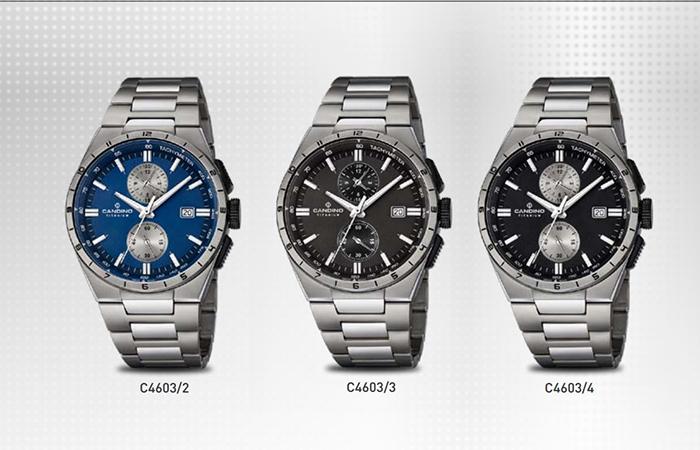 2 Bộ Sưu Tập Mới Candino Titanium Watches Giới Thiệu Năm 2016