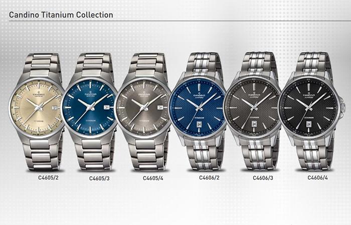 6 Bộ Sưu Tập Mới Candino Titanium Watches Giới Thiệu Năm 2016